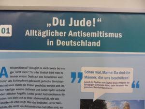 Foto Ausstellung der Kölnischen Gesellschaft für Christlich-Jüdische Zusammenarbeit